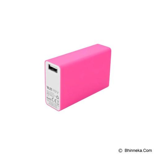 YE!! Powerbank Energy Mini Plus 5600mAh [BPR38] - Pink - Portable Charger / Power Bank